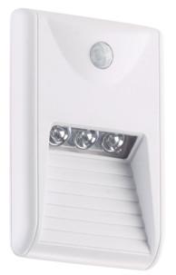 veilleuse lumineuse 15 lm avec detecteur PIR pour escalier et couloir