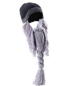 Bonnet avec barbe longue
