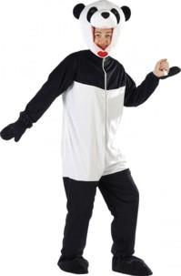 Costume de Panda en fourrure synthétique