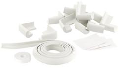 Pack 12 protège-coins + 8 m de bande en mousse pour tables et armoires