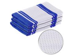 pack de 3 torchons de cuisine en microfibre pour essuyage vaisselle facile
