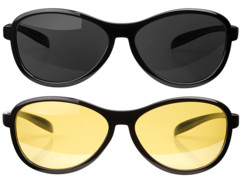 Pack de lunettes de conduite de nuit + de jour