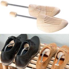 paire d'embauchoir en pin pour chaussures en cuir et anti moisissure