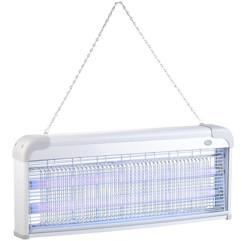 piege a insectes electrique avec tubes a uv 40w pour mouches et moustiques lunartec