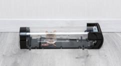 piege a souris inoffensif non létal avec mecanisme et appat pour souris mulot rat rongeur transparent
