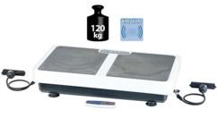 Plateforme à vibrations 3D WBV-199.OE avec extenseurs