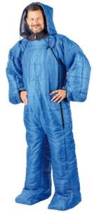 sac de couchage pour adulte avec bras et jambe 205 cm semptec