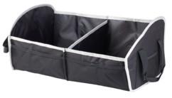 sac de rangement pliable 2 compartiments pour coffre de voiture