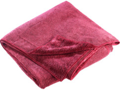 Serviette en microfibres double face 180 x 90 cm - Rouge