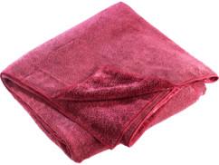 Serviette en microfibres double face 180 x 90 cm - Rouge