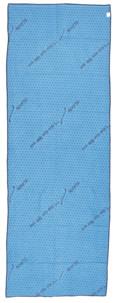 serviette de sport hyper absorbante 1,83 cm bleu avec picots anti dérapants idéal salle musculation fitness yoga