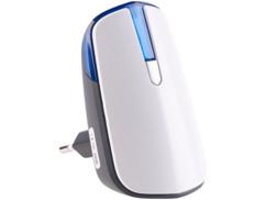 Sonnette/Alarme sans fil sur secteur pour interrupteur cinétique et détecteur