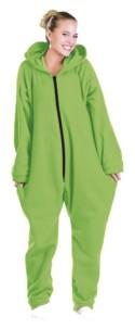 Tenue d'intérieur en textile polaire - Vert - taille S
