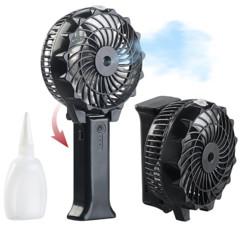 mini ventilateur usb pliable de poche avec fonction brumisateur vaporisateur