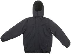 veste d'hiver avec pads chauffants et capuche amovible couleur noir intérieur polaire taille S pour femme