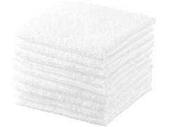 10 serviettes démaquillantes en microfibres recyclées