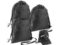 3 sacs à dos sport 20 L avec compartiment pour documents