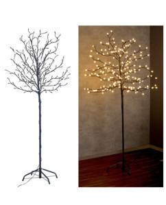 Arbre lumineux 150 cm avec 200 bourgeons à LED - Secteur