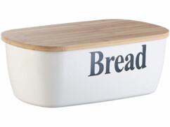 boite a pain en plastique avec couvercle en bois planche a decouper rosenstein
