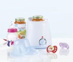 Chauffe-biberon / chauffe-repas pour bébé, avec presse-agrumes