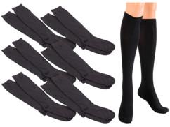 Chaussettes de contention taille S (35 – 39) - 6 paires