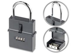 Coffre à clés format cadenas avec code à 4 chiffres