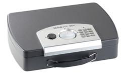 malette en acier de transport documents importants et dossiers avec serrure electronique a code