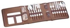 malette de rangement pour nécessaire vaisselle de pique nique picnic 4 personnes
