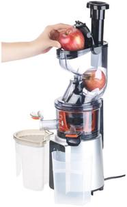 extracteur de jus professionnel tous fruits et légumes a extraction lente rosenstein DSJ-200