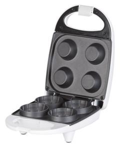 Gaufrier pour 4 mini-coupelles à glace en gaufrette - 520 W