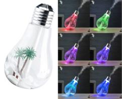humidificateur design forme ampoule avec led de couleur et vapeur froide carlo milano