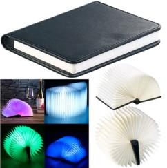 Lampe d'ambiance design livre à LED 5 couleurs 0,2W