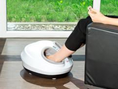 Masseur pour pieds avec fonction chauffage et souffle d'air 3D