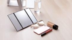 miroir trypique lumineux led repliable pour maquillage et coiffure avec mini lampes