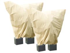 Pack de 2 housses d'hivernage XXL - 240 x 200 cm / 100 g/m²