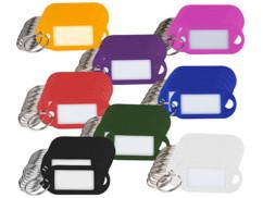 Porte-clés avec étiquettes personnalisables - x96