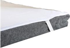 Protège matelas imperméable lavable - 160 x 200 cm