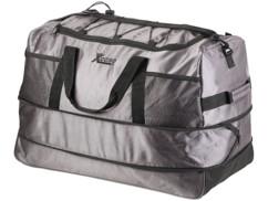 grand sac de voyage ultra leger en toile avec trolley 3 roulettes capacité 140L xcase