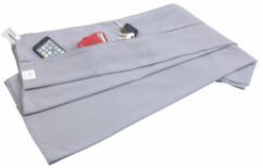 Serviette en microfibres avec poche intégrée - 80 x 200 cm