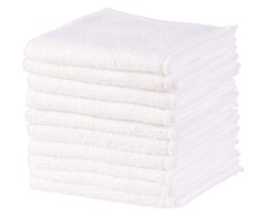 pack de 10 mini serviettes à utilisation unique pour démaquillage 20 cm en microfibre