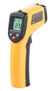 thermometre laser infrarouge sans contact jusquà 380 degrés pour mesures industrielles professtionnel agt