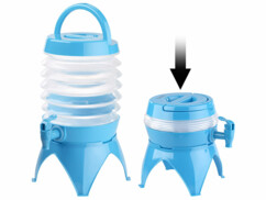 Tonnelet pliable 3,5 L avec robinet