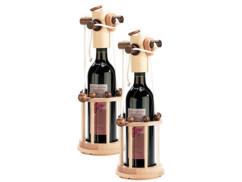 2 casses-têtes en bois pour bouteille - difficulté moyenne