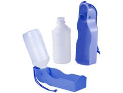 2 distributeurs d'eau nomades 250 ml pour chien