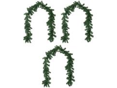 3 guirlandes de sapin décorative 180 cm - À personnaliser