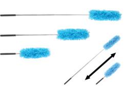 3 plumeaux en microfibres avec manche télescopique 82 cm