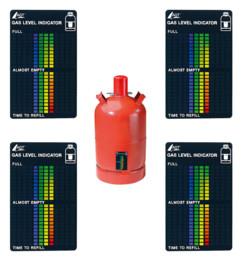 4 indicateurs de niveau de gaz pour toutes les bouteilles de gaz courantes