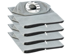 4 sacs d'aspirateur réutilisables universels