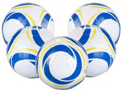 5 ballons de football loisir taille 4 - 260 g