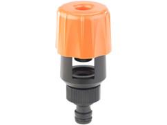 adaptateur tuyau d'arrosage standard pour tous robinets exterieurs interieur royal gardineer